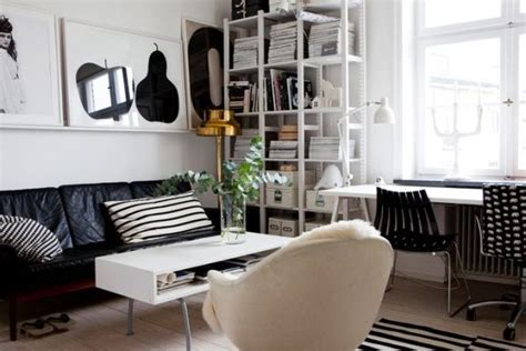small apartments decorating beautiful black and white d 233 cor in a small apartment