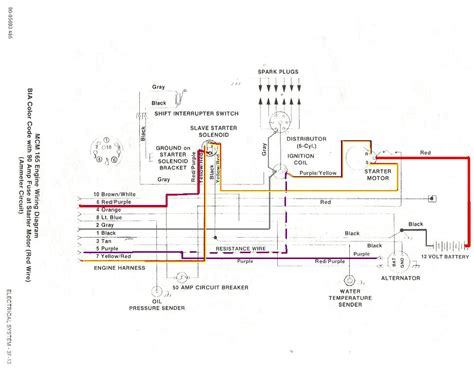 chevy ballast resistor wiring diagram get free image