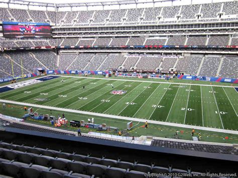 what is section 236 metlife stadium section 236 giants jets rateyourseats com