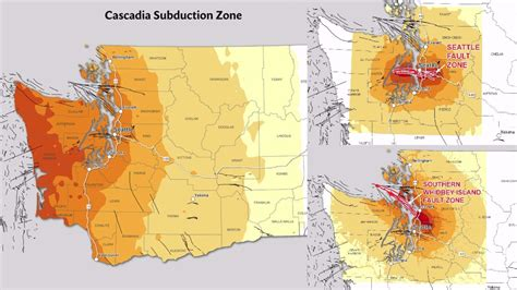 seattle earthquake zone map why you need to be prepared these are the 3 big