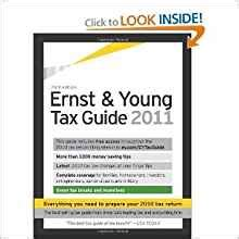 ernst tax guide 2018 books ernst tax guide 2011 preparing your 2010 taxes