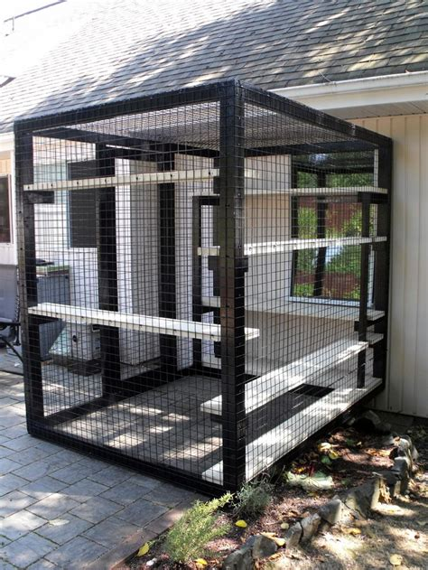 cat patio pin by john creviston on cat enclosures for other animals