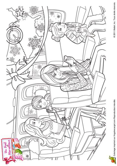 Coloriage Barbie Et La Magie De Noel A Imprimerll