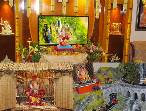 ganpati home decoration eco friendly home decoration for ganesha the royale