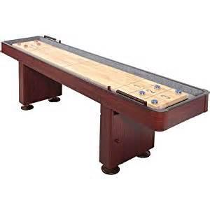 harvil cherry 9 foot shuffleboard table