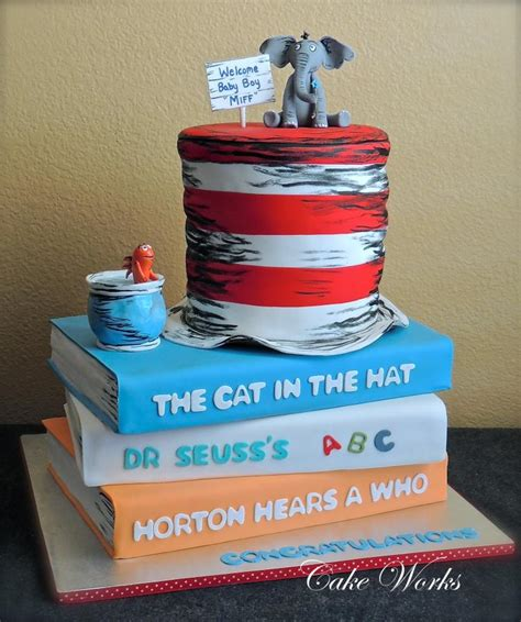 Dr Widya Two Way Cake seuss themed baby shower http www cake decorating