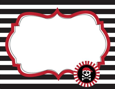 printable pirate name tags 42 best images about idees festa pirata on pinterest