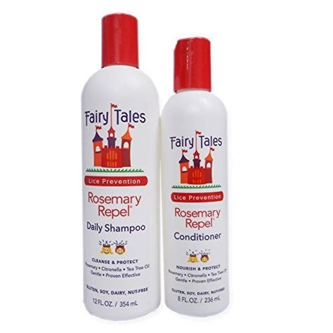 fairy tales rosemary repel conditioning spray 8 oz tales rosemary repel lice prevention 12 oz shoo and 8 oz conditioner combo buy