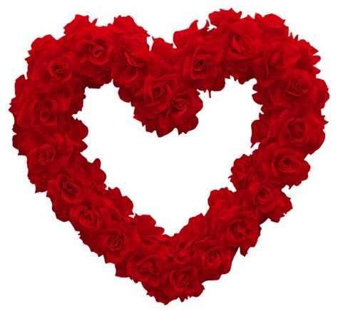 roses and hearts clip hearts and roses cliparts co