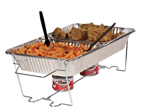 Amazon Com Sterno 7 Ounce Entertainment Cooking Fuel 6 Buffet Kit