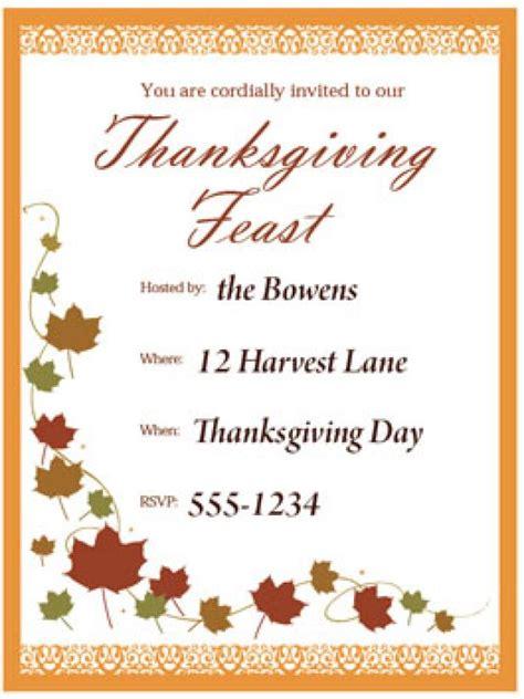 print  customizable thanksgiving invite  hgtv hgtv