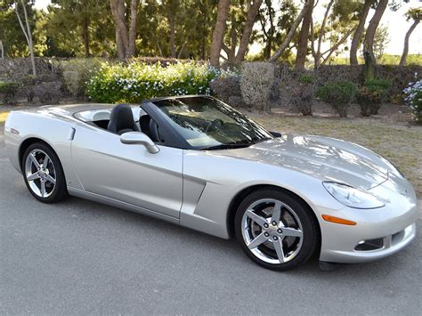 corvette silver sold 2007 chevrolet corvette convertible in machine silver