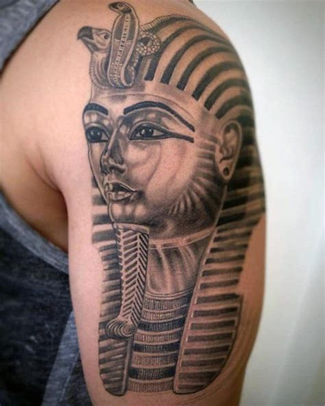 egyptian king and queen tattoo 60 king tut designs for ink ideas