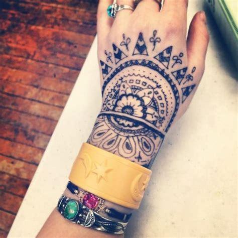 tattoo inspiration bohemian artistic bohemian body art tattoo henna design arm