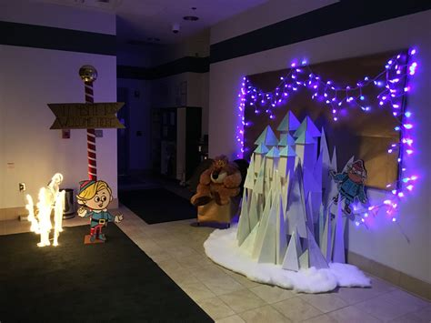 christmas decorations for the land of misfits island of misfit toys castle work decorating toys 2016