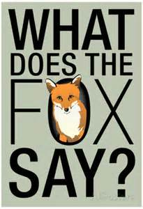 What does the fox say posters allposters ca