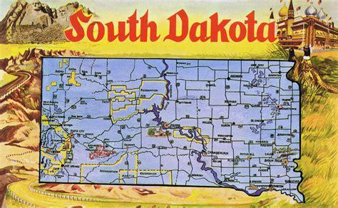 south dakota maps update 1000646 south dakota tourist map places to