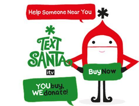 text santa gift cards the thumbs up - Text Santa Gift Card
