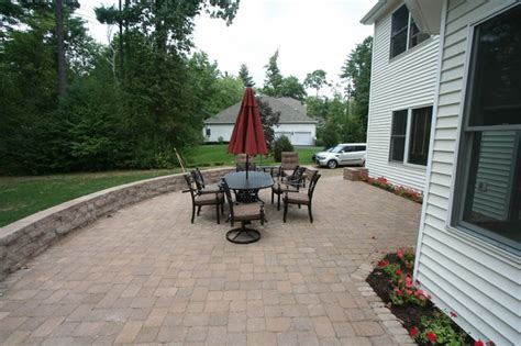 raised paver patio cost raised paver patio contemporary patio other by