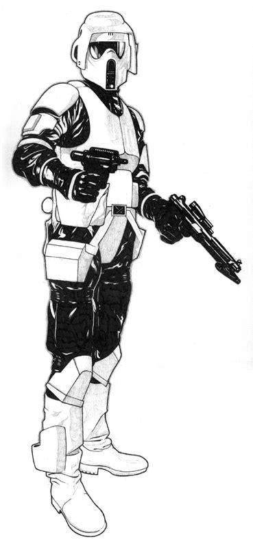 scout trooper coloring pages clone scout trooper clone trooper pedia wiki fandom