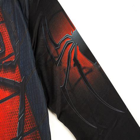 baju olahraga ketat pria crossfit mma compression shirt sleeve size l black white