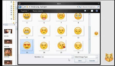 crear imagenes con emoji como poner las caritas de whatsapp a cualquier imagen con