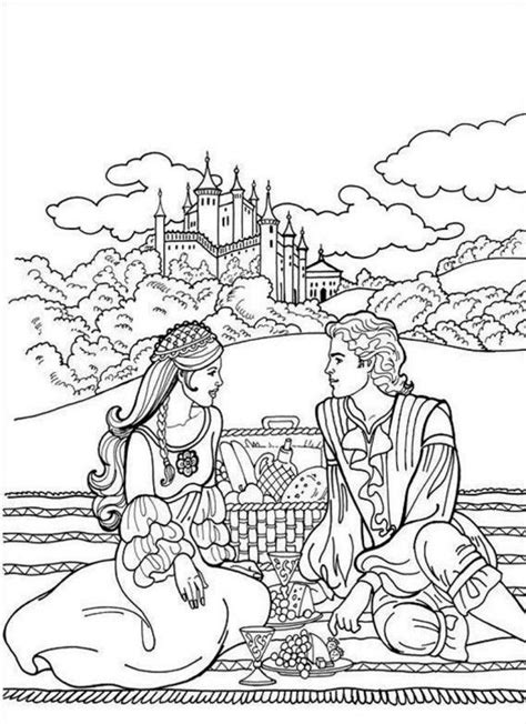 coloring page princess and castle princess castle coloring pages coloring home
