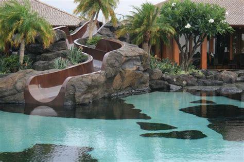 backyard pool slides 16 amazing swimming pool slides