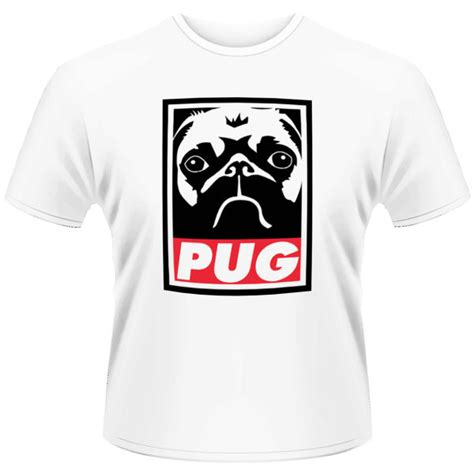 pug t shirt uk pug s t shirt obey pug white iwoot