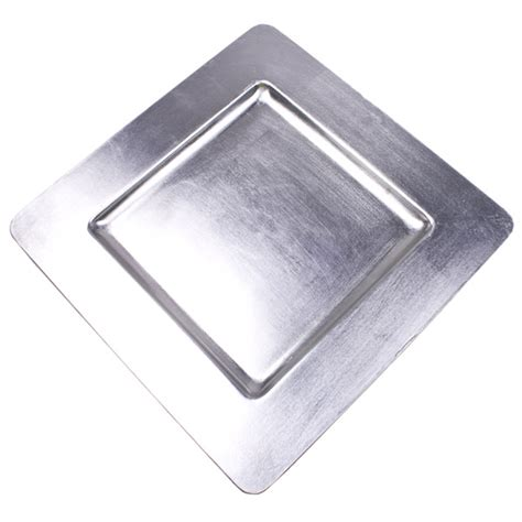 square charger plates standard silver square charger plate 33cm x 33cm