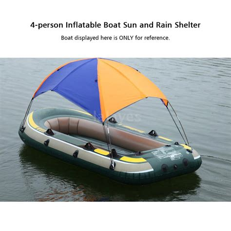 fishing boat sun canopy 4 person boat sun shelter sailboat awning cover fishing