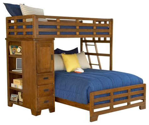 Student Bunk Bed Heartland Student Loft Bed Contemporary Bunk Beds By Shopladder