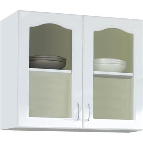 Meuble haut cuisine vitree   Achat / Vente pas cher