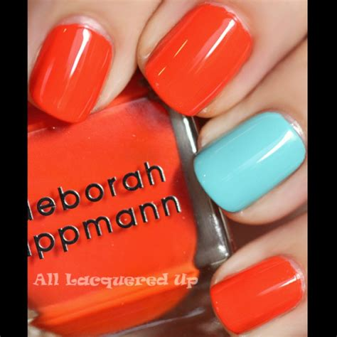 popular nail colors one finger a different color how to sport an accent nail manicure beauty fashion