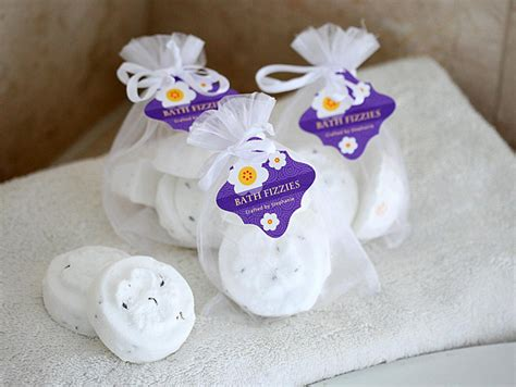 Bridal Shower Favor Idea Bath Fizz bath fizzies evermine