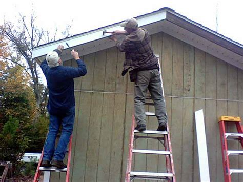 Shed Roof Trim by C Host Shed