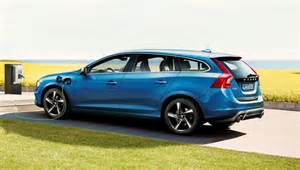 Volvo V60 Hybrid Volvo V60 R Design D6 Awd In Hybrid