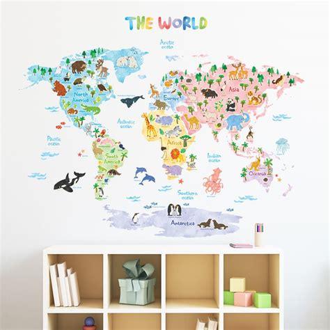 Wall Stickers World best 25 map nursery ideas on pinterest travel nursery