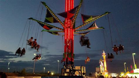 vertigo swing ride vertigo swing ride 4k 2016 larimer county fair loveland