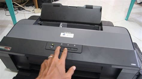 Reset Key Printer Epson L1300 | reset epson l1300 youtube