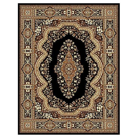 Rugs 5x8 by Donnieann 174 5x8 Tajmahal Area Rug Beige Black