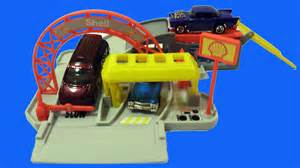 Wheels Truck Playset Wheels World Shell Gas Station Mini Playset With