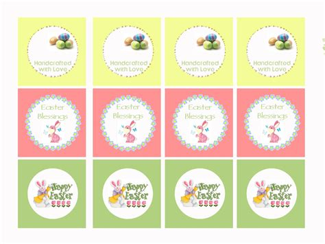 printable easter labels free our way to learn easter gift tags free printable