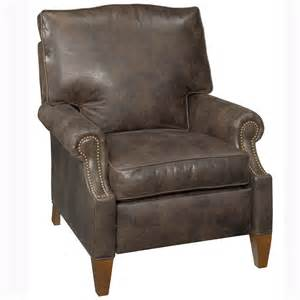 Leather Recliner Chairs Julius Quot Designer Style Quot Push Back Leather Reclining Chair Leather Recliners