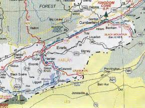 harlan ky map harlan county map kentucky kentucky hotels motels vacation rentals places to visit in