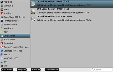 converter format vob fast batch convert mp4 to vob for ntsc pal dvd burn