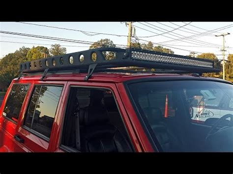 Xj Roof Rack Build by Jeep Xj Roof Rack Build Part 2 Of 2