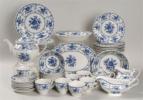 blue pattern crockery indies blue china by johnson brothers serviesgoed