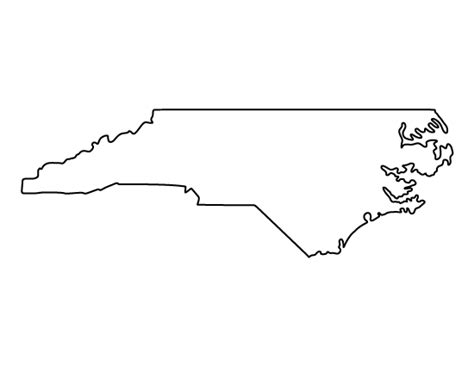 Carolina Outline by Carolina Pattern Use The Printable Outline For Crafts Creating Stencils Scrapbooking