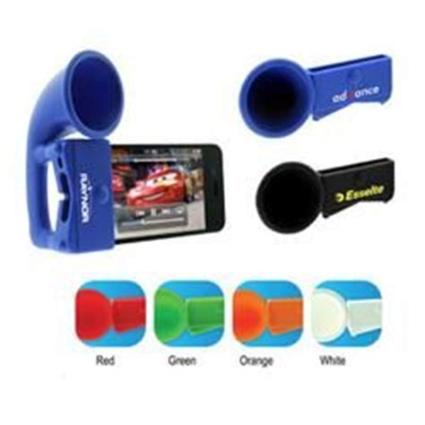 Cool Promotional Giveaways - iphone megaphone speaker cell phone accessories promotional products trade show